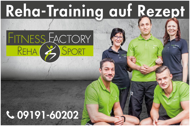 Fitness Factory Reha-Training auf Rezept